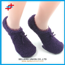 Fashion knitted anti-slip ankle floor socks manufacturer