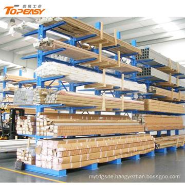 adjustable long arm cantilever rack /pipe storage rack system