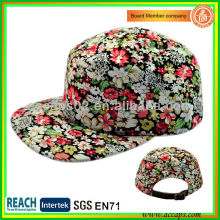 2013 Fashion & New Floral Print 5 Panels Hut-Stil 0007