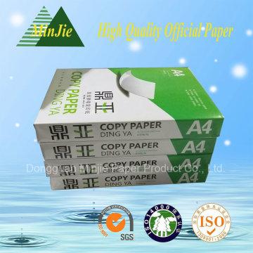 Erster Grad A4 Kopierpapier 80GSM Büropapier