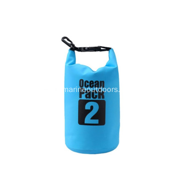 100% Waterproof Roll Top PVC 2L Custom Logo Dry Bag