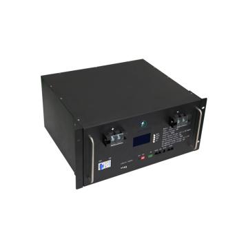 Telecom lithium battery rack power storage