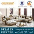 U Shape Best Quality Middle East Fabric Sofa (2198)