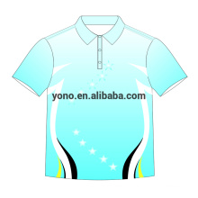2018 Custom Polo Shirt Blank T-shirt Novo Design