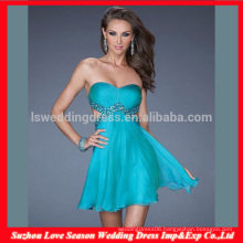 HC4275 The Whole Sale A LIne Sleeveless Sweetheart Chiffon Crystal Diamond Royal Blue Corset Evening Dress Bustier