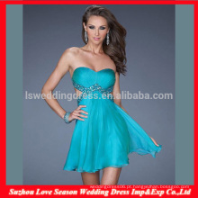 HC4275 The Whole Sale A LIne sem mangas Sweetheart Chiffon Crystal Diamond Royal Blue Corset Evening Dress Bustier