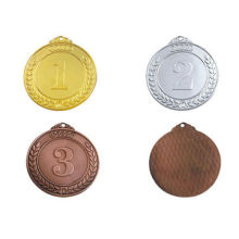 Custom Sports Medals/Awards in Gold/Silver/Bronze Color, Made of Zinc Alloy, Iron, Aluminum, Metal