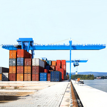 32ton Rail-mounted Double Girder Port Container Gantry Crane