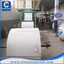 Spunbond telas não tecidas tapete de poliéster usado para SBS / APP membrana de impermeabilização