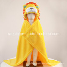 Hooded Thick Blanket Newborn Lion Cute Animal Shaped Blanket