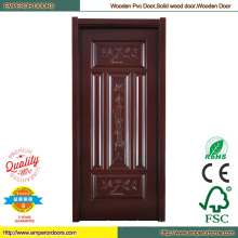 Wood Door Skin PVC Wooden Door Interior Door