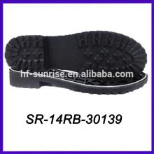 shoe natural rubber sole black ruber shoe sole thick rubber outsole