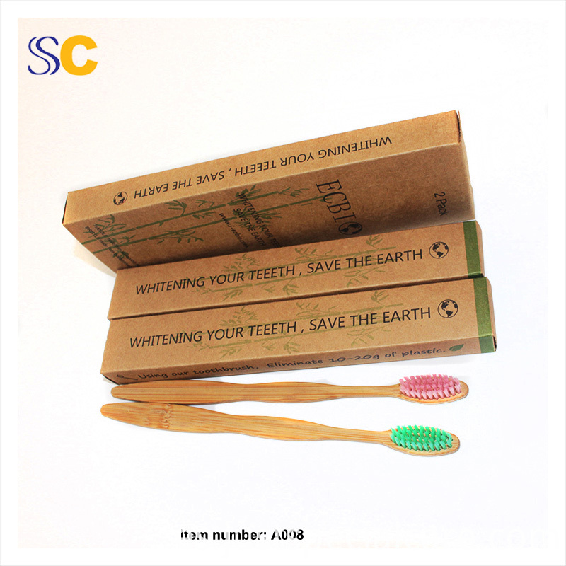 Bamboo Charcoal Toothbrush A008 2