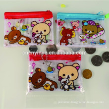 Popular plastic mini printed cheap promotional coin purse