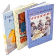 Impression de livre d'histoire de livre de livre relié par coutume de stitcing de fil