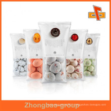 Joint central d'emballage en plastique stratifié à 3 couches pour les collations