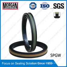 High Pressure Spgw / Phd Type Hydraulic Cylinder Piston Seal Ring