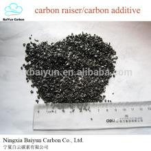 C: ajout de 95% de carbone pour la coulée de carbone et l'additif de carbone