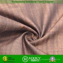Tissu 100% de tissage de polyester avec la conception de Jacquard pour le vêtement