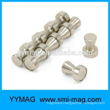 Hot sale Customized rare earth neodymium strong Steel magnetic push pin