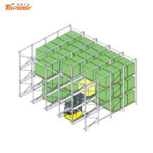 складские стеллажи-сверхмощный привод через стойку