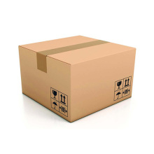 Caja Kraft acanalada marrón barata del envío