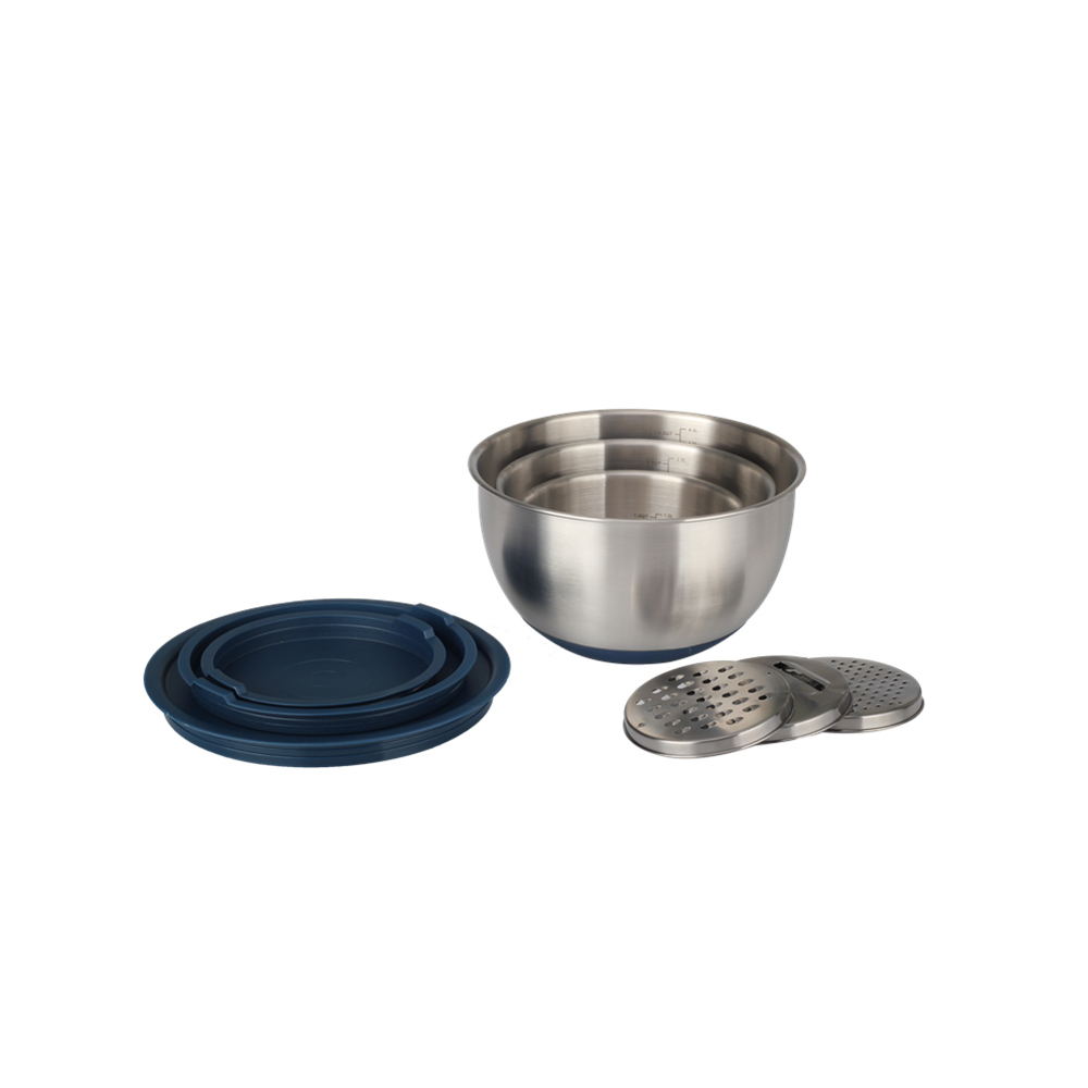 Kitchen Accessories Stainless Steel Mixing Bowl With Scale