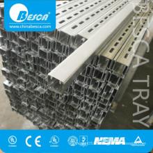 Unistrut P1001 Stainless Steel 316 304 Aluminum GI Pre-Galvanized C U structural Channel (UL cUL NEMA IEC SGS ISO CE)