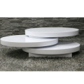 Table basse ronde Table giratoire