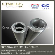 Tube de fibre de carbone / rouleau / axe de fibre de carbone 3K ovale / ronde / carrée en tissu de carbone mat