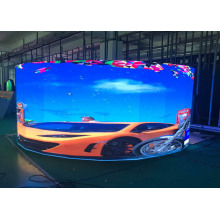 Indoor Curved LED Display for Concert