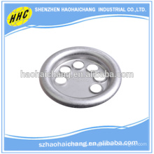 customized nonstandard aluminum 6 holes flanges