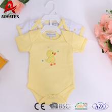venta al por mayor de 19-24 meses de niños bebés de algodón unisex ropa de bebé mamelucos