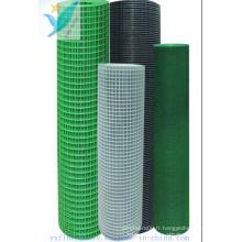 10mm * 10mm 2.5 * 2.5 110G / M2 Net de fibre de verre murale externe