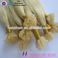 Qualidade de luxo direto da fábrica por atacado de cabelo russo duplo desenhado remy u ponta extensão do cabelo