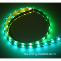 30leds / M tira de LED 5050 SMD Magic Pixel LED tira luces APA102 SK9822