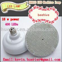 High quality led honeycomb lamp 400 LEDs 18 w