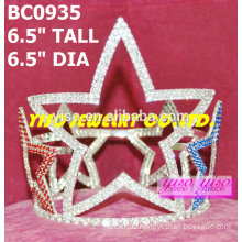 star beauty pageant round crowns and tiaras