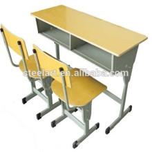 Luoyang usine customerized étudiant bureau de meubles et une chaise