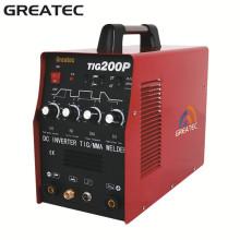 Inverter DC Soldador Pulso TIG máquina de soldadura (TIG200P)