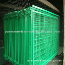 PVC Coated Welded Wire Mesh Panel used for garden, feeding agriculture, fishing