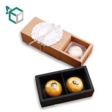 Caja barata del paquete del mooncake del chocolate de la categoría alimenticia del grado