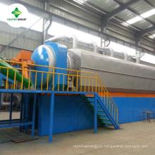 Новый полный состояние используемых шин пиролиз нефтеперерабатывающий завод с высокое качество и цена преимущество