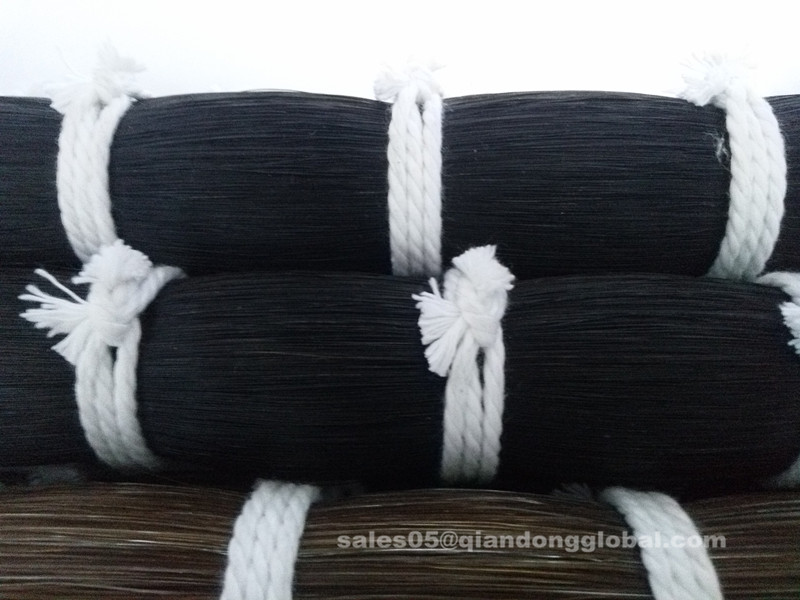 High Quality Black Horse Tail Hair