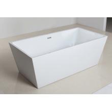 Глянцевая сглаженная аккуратная форма Свободная ванна