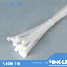 Пластиковые нейлон кабельные стяжки (YL-T4X250)