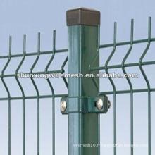 Panneaux de clôture en fils soudés à clôture temporaire