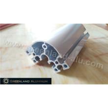 Fruther processamento perfil de alumínio com prata anodizada