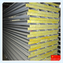 ISO-Certificated Fireproof Glass Wool Sandwich Panel for Roof