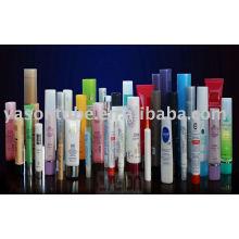 Vários plástico vazio recipiente de tubo cosmético